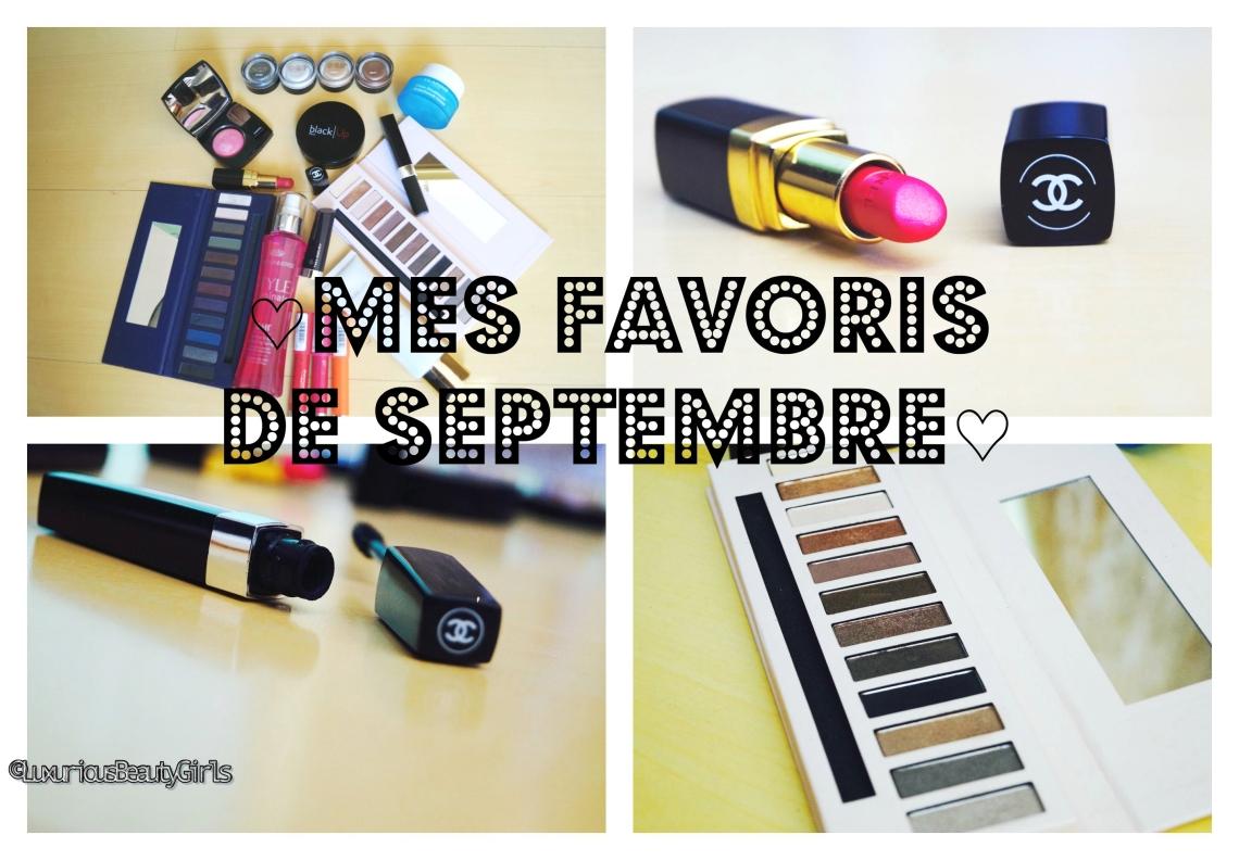 ♡ Mes favoris de Septembre♡