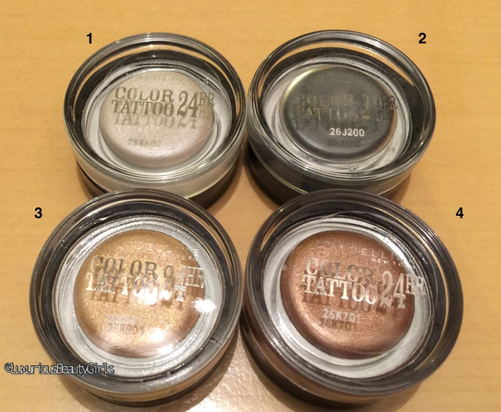 Revue Makeup: « 24h Color Tattoo » de Gemey Maybelline