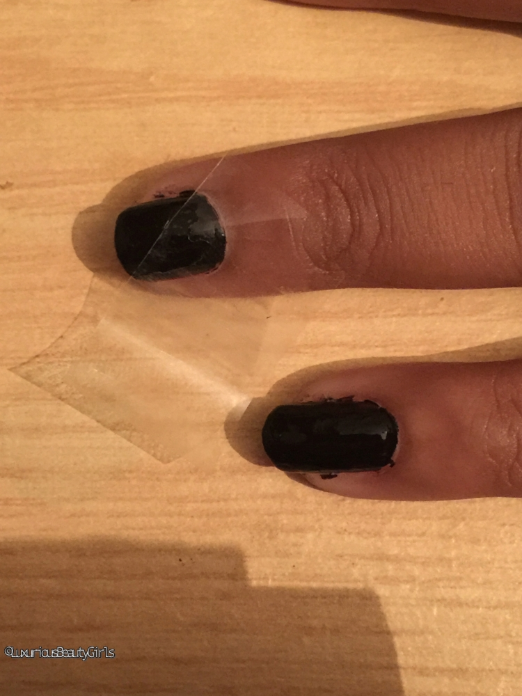 Tuto Manucure: Black and Gold