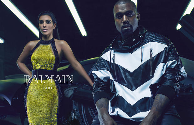Kim-Kardashian-et-Kanye-West-prennent-la-pose-pour-la-nouvelle-campagne-de-Balmain