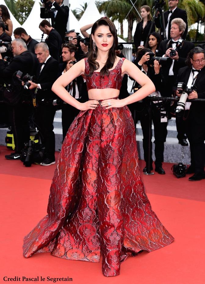 Kristina Bazan Cannes 2016