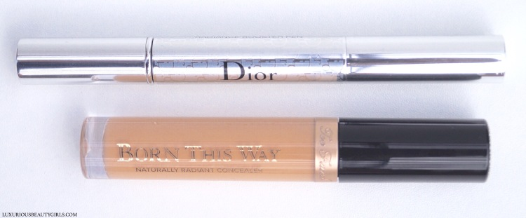 Dior Skinflash Radiance Booster Pen & Too Faced Naturally Radiant Concealer
