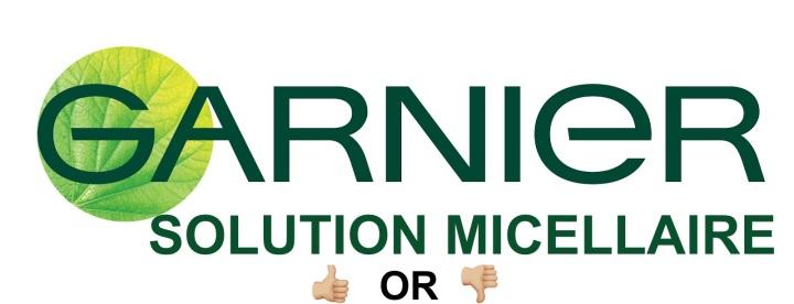 J'ai testé l'eau micellaire de Garnier!