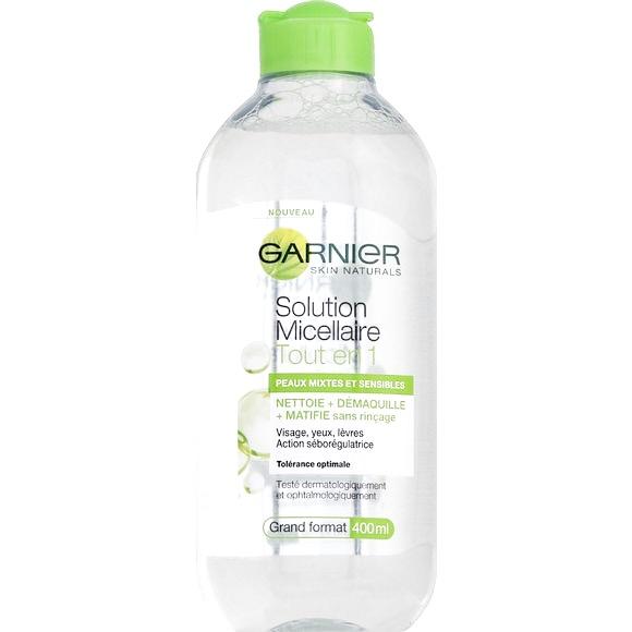 J'ai testé l'eau micellaire de Garnier !
