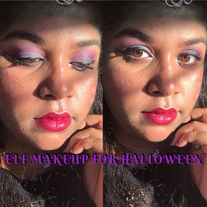 ELF MAKEUP FOR HALLOWEEN / MAQUILLAGE D'ELFE POUR HALLOWEEN