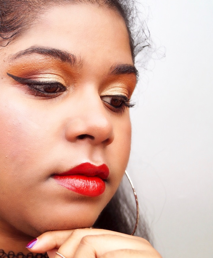 Maquillage facile pour les fêtes | Easy Makeup for the Celebrations: Golden Metallic Makeup