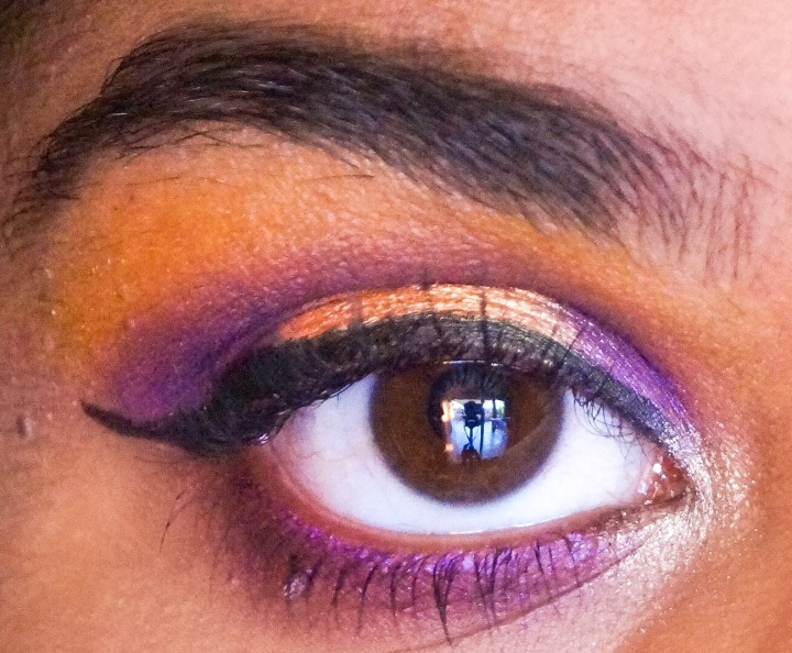 GOLDEN PURPLE EYE MAKEUP⎪MAKEUP TUTORIAL